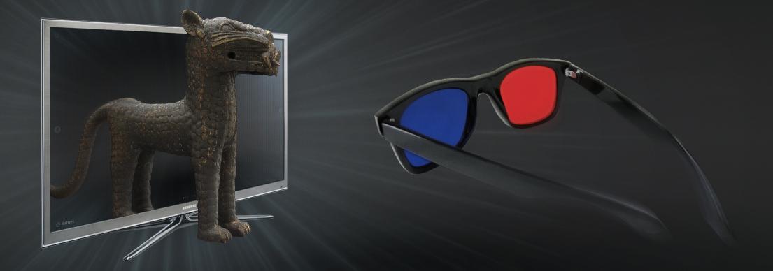 3D stereoskopické zobrazenie