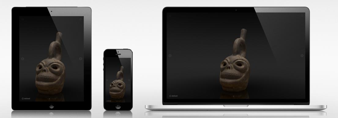 multiplatforma 3D prehliadania